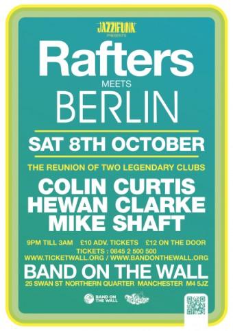 Rafters vs Berlin