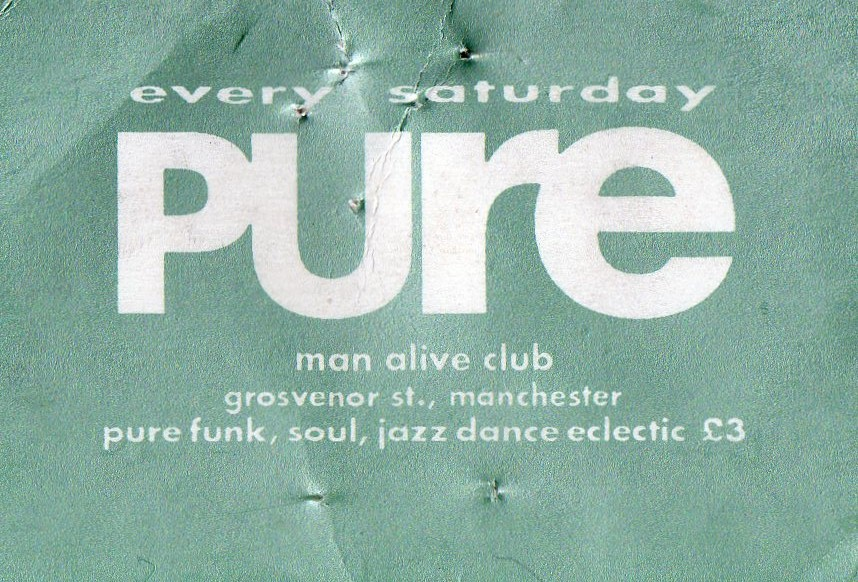 Pure @ Man Alive – 1990s
