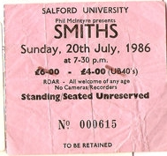 The Smiths Salford Uni