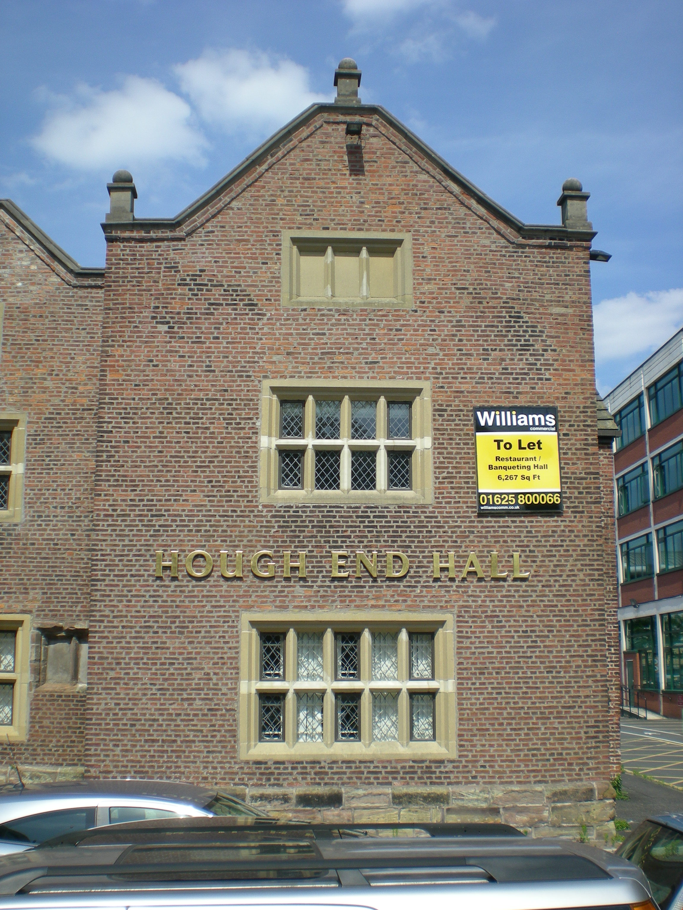 Hough End Function Room