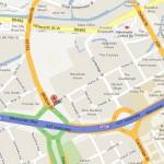Hulme Street Map