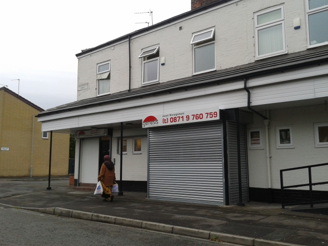 Location of Plymouth Terrace, Sedgeborough Road, August 2012