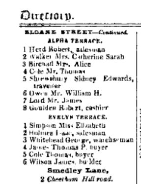 Slater's Directory of Manchester and Salford 1863 (Image 891)