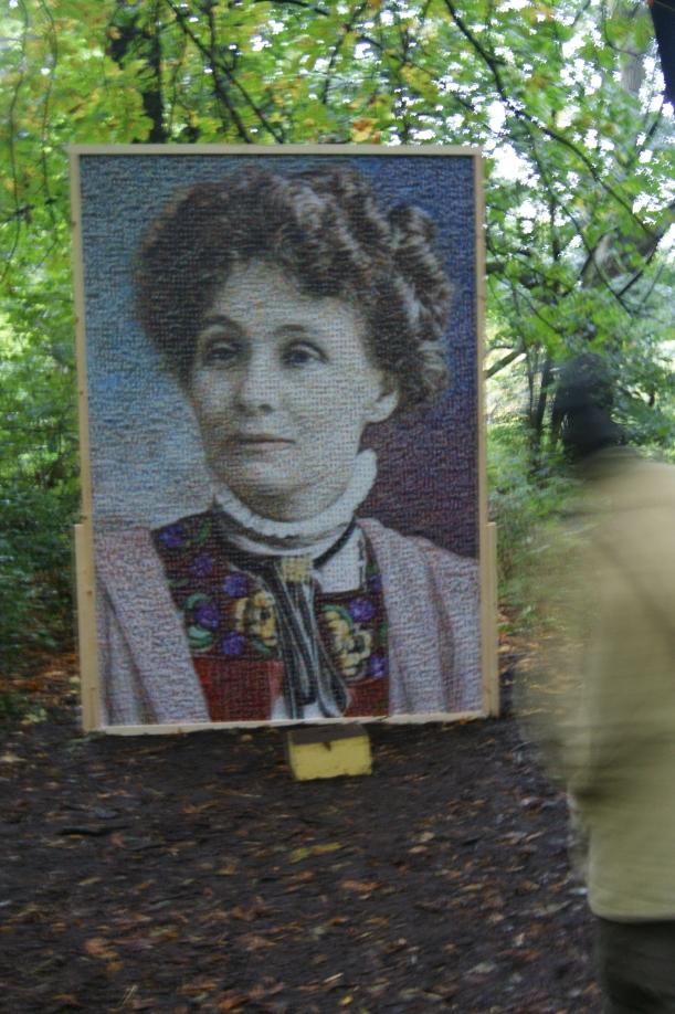 Emmeline Pankhurst by Charlotte Newson