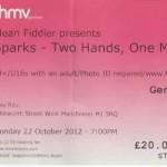 sparks-ticket