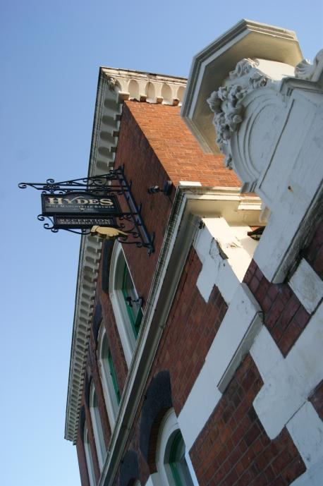 Hydes Brewery Entrance
