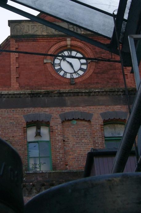 Queens Brewery Stonework & Clock