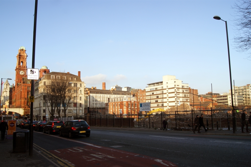 January 2013 - Across Oxford Road