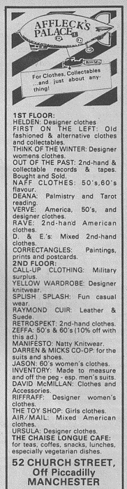 City Life Ad 1983
